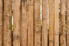 Old bamboo fence background Stock Photos