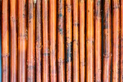 Old bamboo fence background / Bamboo fence background texture.  Royalty Free Stock Photo