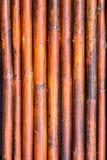 Old bamboo fence background / Bamboo fence background texture.  Stock Image