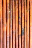 Old bamboo fence background / Bamboo fence background texture.  Stock Photo