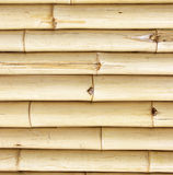Old bamboo fence wall background Royalty Free Stock Photography