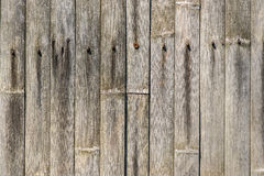 Old bamboo fence 1. Old and weathered bamboo fence structure 1 Stock Images