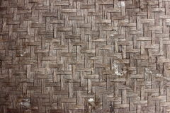 Old bamboo pattern Stock Image