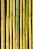 Old bamboo sticks background vertical closeup Royalty Free Stock Photography
