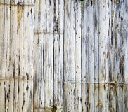 Old Bamboo texture Stock Images