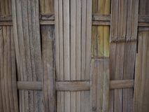 Bamboo texture pattern backgroung. Old bamboo texture and backgroung Royalty Free Stock Photo