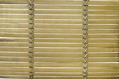 Old bamboo tray Stock Image