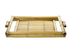 Old bamboo tray Royalty Free Stock Photos