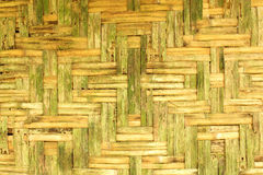 Old bamboo wall. Background of old bamboo wall of house at Thailand Royalty Free Stock Photography