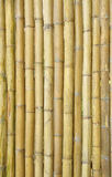 Old bamboo wall Royalty Free Stock Photo
