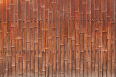 Old bamboo wall Stock Photos