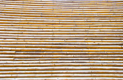 Old bamboo wall Stock Photo