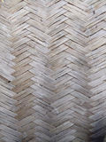 Old bamboo wall texture for background Stock Images