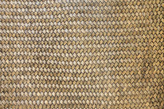 Old bamboo Weave Basket texture. And background Royalty Free Stock Photos