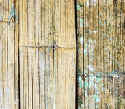 Old bamboo weave wall Royalty Free Stock Photography