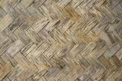 Old bamboo wood texture Royalty Free Stock Photo
