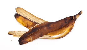 Old Banana Peel Royalty Free Stock Photography