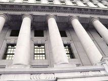 Old bank building Royalty Free Stock Photo