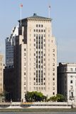 The Old Bank of China Building in The Bund Stock Photo