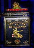 Old Bank England Pub City Financial District London England Royalty Free Stock Image