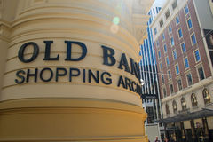 The old bank shopping arcade wellington Royalty Free Stock Photos