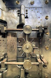 Old Bank Vault. In Basement of Historic Building royalty free stock images