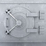 Old Bank Vault Royalty Free Stock Photo