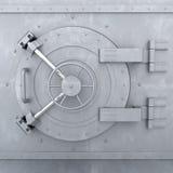 Old Bank Vault. 3d illustration Royalty Free Stock Photo