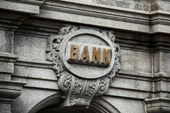 Old Bank Stock Photography