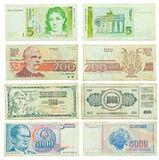Old banknotes Royalty Free Stock Photography