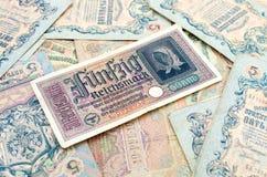 Old banknotes royalty free stock photos