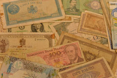 Old banknotes Stock Photography