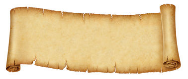 Old banner scroll Royalty Free Stock Photo