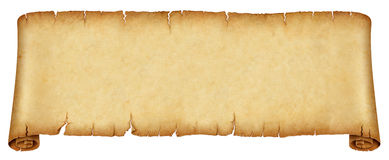 Old banner scroll Royalty Free Stock Images