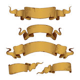 Old Banners (illustration) Royalty Free Stock Photo