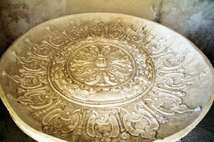 Old baptismal font Royalty Free Stock Images