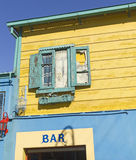 Old bar in La Boca. Buenos Aires, Argentina Royalty Free Stock Images