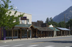Old bar small town Twisp Royalty Free Stock Photo