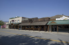 Old bar small town Twisp Royalty Free Stock Image