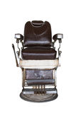 Old barber chair Stock Images