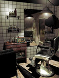 Old barber shop Royalty Free Stock Images