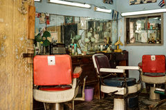 Old Barber Shop Royalty Free Stock Image