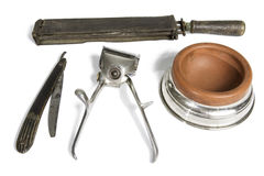 Old Barber Tools Stock Photos