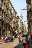Old Barcelona ambiance Stock Photo