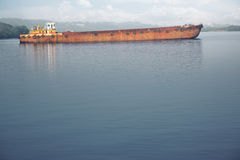 Old barge Stock Images