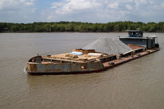 Old barge Royalty Free Stock Photography
