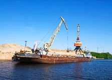 Free Old Barge Royalty Free Stock Photos - 3202478