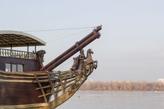 An old barge Stock Photo