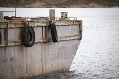 Old barge Stock Photo