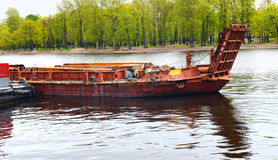Old barge Stock Image